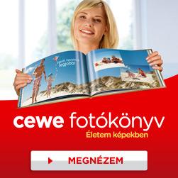 CEWE FOTÓKÖNYV rendelőszoftver